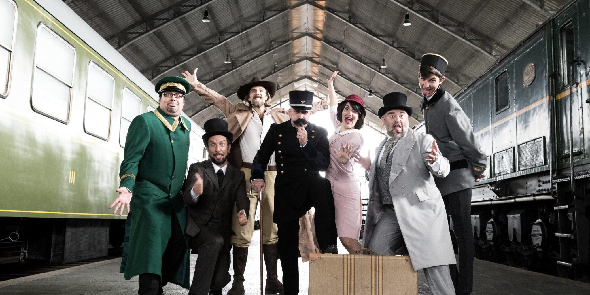 El Misterio del Museo del Ferrocarril